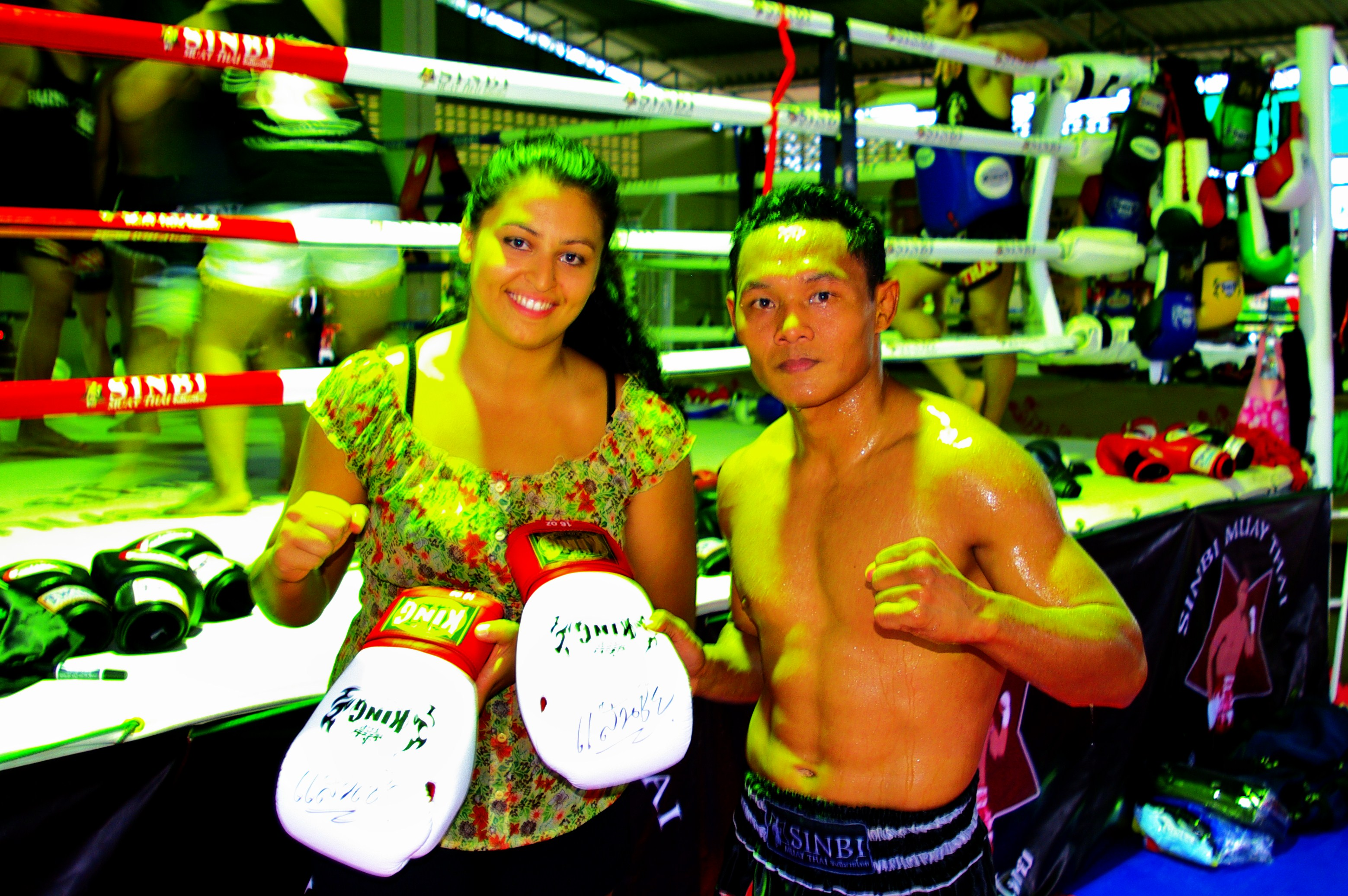 Me with Legend Saenchai Sor Kingstar